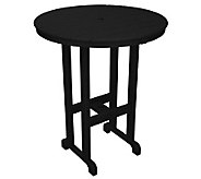 POLYWOOD Traditional Round 36 Bar Table - H349883