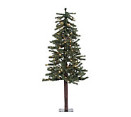 48 Prelit Natural Alpine Tree w/ Clear Lights by Vickerman - H155284