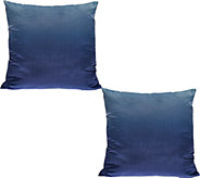 LOGO by Lori Goldstein Set of 2 Ombre Decorative Pillows - H208884