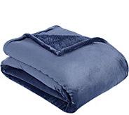 Berkshire Blanket Full Velvet Soft Reverse to Fluffie Blanket - H212284