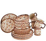 Temp-tations Old World 16-Piece Deep Dish Dinnerware Set - H214684