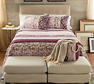 The Quilt Patch Ollie 3-Piece King Quilt Set with Storage Bin - H217684