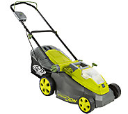 Sun Joe 40-Volt Cordless 16 Lawn Mower with Brushless Motor - H286985