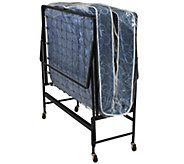 Serta Twin Size Rollaway Bed with Innerspring Mattress - H288085