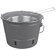 Coleman Rust-Resistant Portable Party Pail Charcoal Grill - H297685