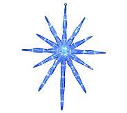 35-Light LED Blue 17 Starburst - H352185