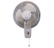Lasko 12 Oscillating Wall-Mount Fan - H149086