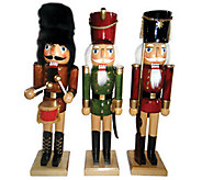 Set of 3 Nutcrackers by Santas Workshop - H285186