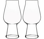 Luigi Bormioli Birrateque Set 18.25-oz IPA/White IPA Glasses - H291586