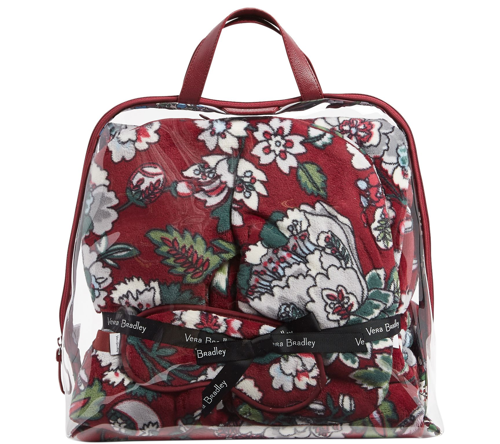 Vera Bradley Signature Travel Gift Set — QVC.com 72f83f03df89f