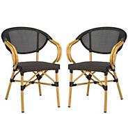 Safavieh Burke Stacking Arm Chairs - H310686