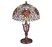 Tiffany Style 24H Renaissance Rose Lamp - H61386