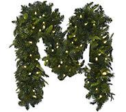 Bethlehem Lights 9 Mixed Greens Prelit Holiday Garland - H208787