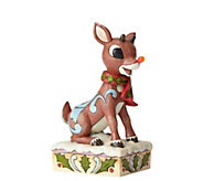 Jim Shore Heartwood Creek Rudolph with Light Up Nose Figurine - H216187