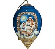 5.50 Sleep in Heavenly Peace Nativity Ornamentby NeQwa - H294287