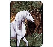 Shavel Hi Pile 60 x 80 Unicorn Luxury Throw - H301387