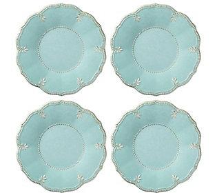 Lenox Set of 4 French Perle Aqua