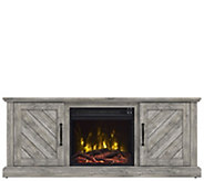 Classic Flame Belcrest TV Stand with Electric Fireplace - H302787
