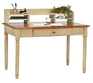 Country Cottage Solid Wood Desk by Office Star - H127888