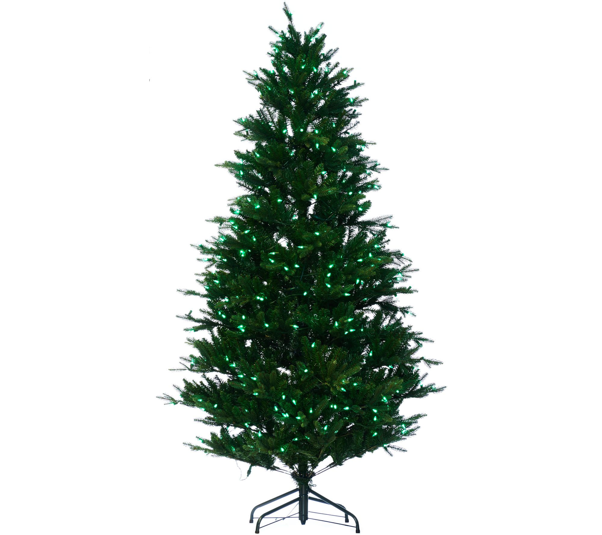 Santa\'s Best 7.5\' RGB 2.0 Green Balsam Fir Christmas Tree - Page 1 ...