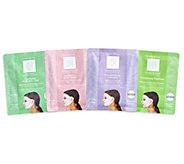 Set of 4 Rejuvenation Facial Masks by Lori Greiner - H218488