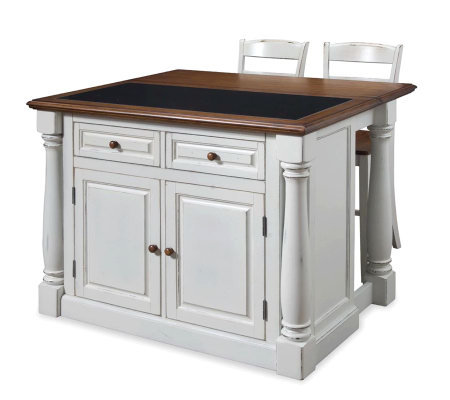 home styles monarch kitchen island home styles monarch kitchen island w granite top amp two 24121