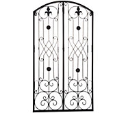 Indoor/ Outdoor 36 Metal Garden Gate by Valerie - H214689