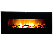Warm House Valencia Wide Wall-Hanging ElectricFireplace - H281889