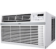 LG 10,000 BTU 115V Window-Mounted Air Conditioner with Remote - H298389