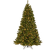 National Tree Company 7.5 North Valley SprucePrelit Tree - H303289