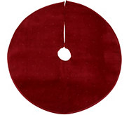 26 Round Illuminated and Twinkling Tree Skirt by Valerie - H216290