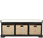 Lonan Storage Bench by Safavieh - H285790
