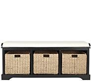 Lonan Storage Bench by Safavieh - H285790