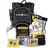 Life Gear Day Pack Emergency Survival BackpackKit - H294590