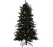 Santas Best 5 Grand Fraser Fir Tree w/ EZ Power & 8 Light Functions - H205691