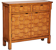 Honeycomb Cupboard with 2 Drawers and 2 Doors by Valerie - H209491