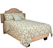 Home Reflections King 4- Piece Floral 100Cotton Quilt - H210891
