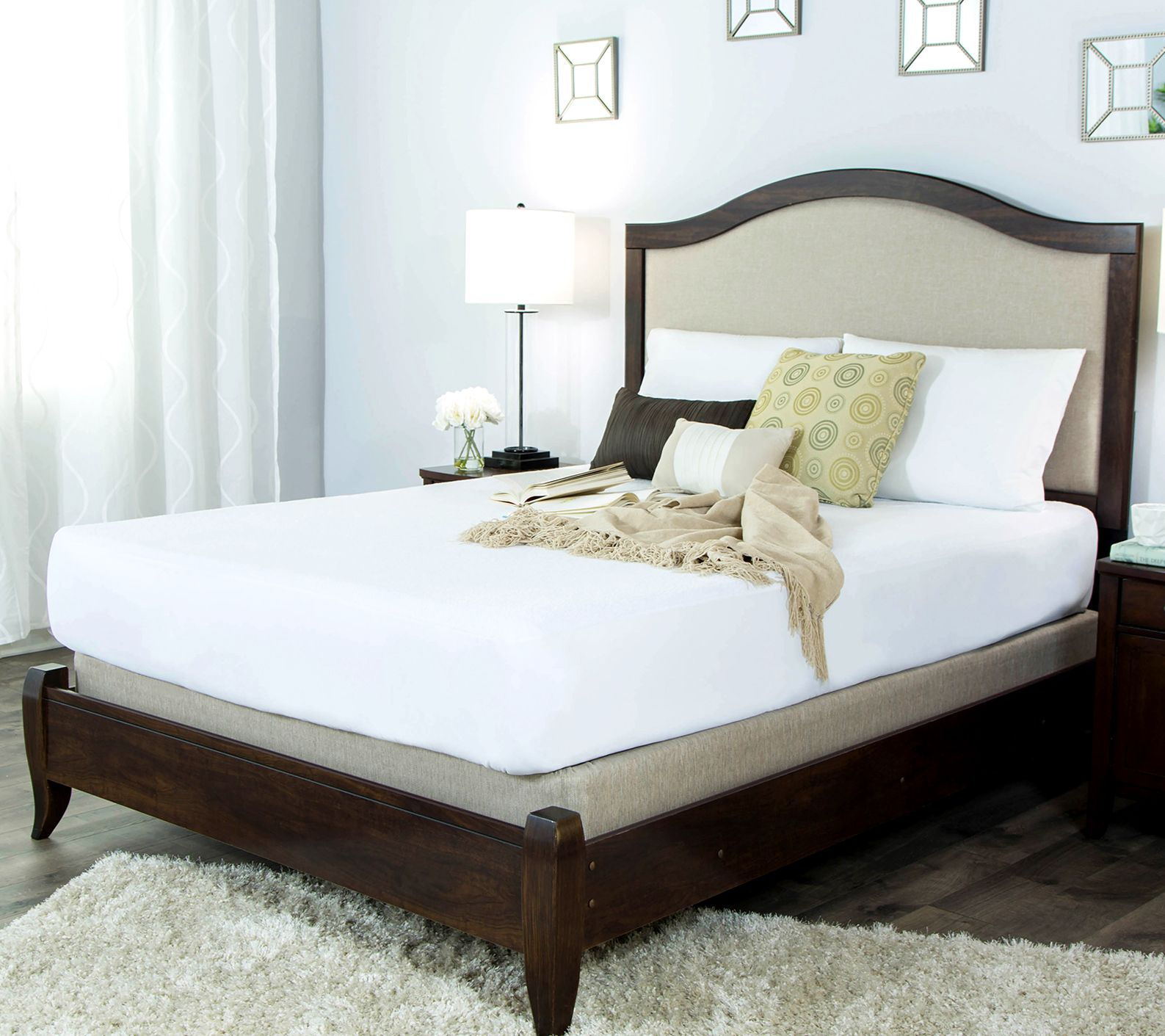 Protect-a-Bed Premium Cotton Terry King Mattress Protector ...