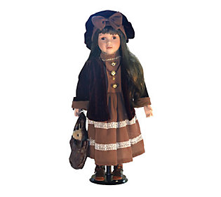 Copa Judaica Ellis Island Collection PorcelainDoll -
