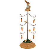 Decorative Carrot Tree w/ Bunny Accent by Valerie - H213792