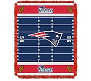 NFL Woven Jacquard Throw Field 36 x 46 - H290092