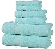 Elegance Spa 6-Piece Cotton Towel Set - H294892
