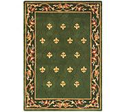 Royal Palace Special Edition 5x7 Fleur de Lis Wool Rug - H207293