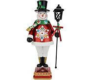 Kringle Express Metal 22 Holiday Snowman - H216193
