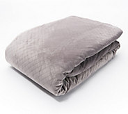 BlanQuil 48 x 74 15-lb Weighted Blanket with Removable Cover - H217793