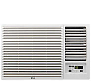 LG 12,000 BTU 230V Window-Mounted Air Conditioner with Heat - H298393