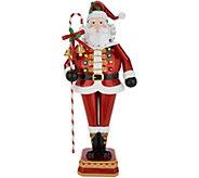 Kringle Express Metal 22 Holiday Santa - H216194