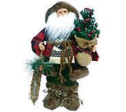 16 Woodsman Santa by Santas Workshop - H285194