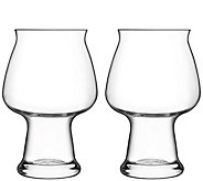 Luigi Bormioli Birrateque Set of Two 17-oz Cider Glasses - H291594