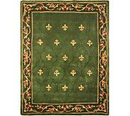 Royal Palace Special Edition 8x106 Fleur de Lis Wool Rug - H207295